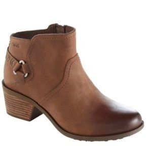 Teva Foxy Bison Brown Ankle Boots